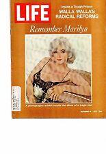 MARILYN MONROE  LIFE MAGAZINE 1972