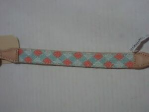 Bond & Co. Turquoise & Coral Knot Dog Collar, For Neck Sizes 15-18, Medium