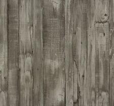 P.S Origin 42104-30 Tapete Vlies Holz Bretter grau beige metallic (2,74€/1qm)