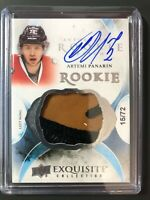 2015-16 Artemi Panarin Exquisite Auto Rookie Patch /72