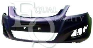 P3859 EQUAL QUALITY Paraurti anteriore OPEL ZAFIRA B (A05) 1.6 105 hp 77 kW 1598