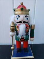 "7.5""  Nutcracker Drummer Toy Soldier Red Green Christmas Holiday Decor"