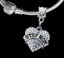 Step mom jewelry gift step mother jewelry gift charm only stepmom present love