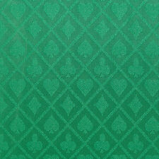 PRO Suited Speed Cloth for Poker Tables - Solid Green (6 Feet)