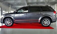 Body Side Mouldings Door Molding Protector Trim Black for Fiat Freemont 2011-