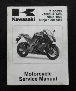 2011 KAWASAKI 1000 Z1000SX ABS Ninja 1000 ABS Moto Servizio Manuale Pulire