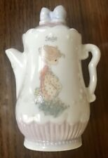 """Precious Moments Teapot Spice Jar """"Sage"""" in Excellent condition"""