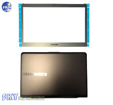 NEW Samsung NP535U3C NP530U3C NP530U3B LCD Back Cover Brown W/ Bezel BA75-03709J