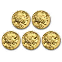Bank Wire Payment. 2019 1 oz Gold Buffalo BU Lot of 5 Wire