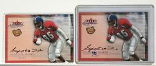 TWO 2000 Fleer Tradition Rookie Autograph Sylvester Morris!