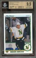 1990-91 upper deck french #46 MIKE MODANO stars rookie BGS 9.5 9.5 9.5 10