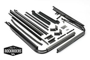 1988-1995 Jeep Wrangler YJ Soft Top Main Frame & Mounting Hardware Channel Kit