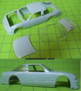 BODY - 1988-1992 NASCAR OLDSMOBILE STOCK CAR BODY - 1/25 Scale - GRAY