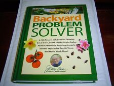 *NEW HARDCOVER*  BACKYARD PROBLEM SOLVER by JERRY BAKER (2002)