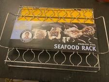 Seafood Rack Steve Raichlen Stainless Steel with Handles
