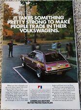 1972 AMC Gremlin car ad