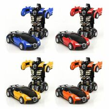 New listing Robot Car Transformers For Boys Kids Toys Toddler Vehicle Cool Toy Xmas Gift New
