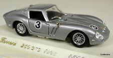 SOLIDO 1/43 - 4506 FERRARI 250 GTO 1963 SILVER DIECAST MODEL CAR