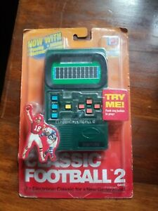 NEW Vintage 2002 Mattel Classic Football 2 Game - NEW Sealed