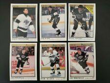 1990-91 & 91-92 O-Pee-Chee Premier Los Angeles Kings Team Set 21 Gretzky *LOOK*