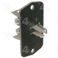 HVAC Blower Motor Resistor-Resistor Block Front 4 Seasons 20466