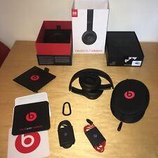 Genuine Apple - Beats by Dr Dre Solo 3 Wireless Headphones Matte Black Excellent
