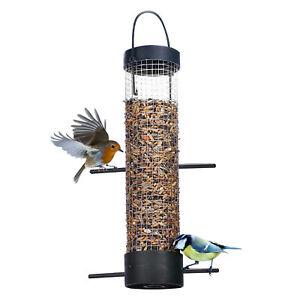 Vogelfutterstation Vogelfutterspender Futterspender Futtersäule Vögel Wildvögel