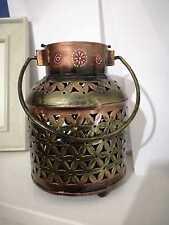 Antique Vintage Style  Lantern Candle Holder Tea Light Garden Home