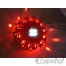 LED MAGNET-WARNBLINKLEUCHTE WARNSIGNAL NOTFALL LEUCHTE SOS LAMPE WARNBLITZER