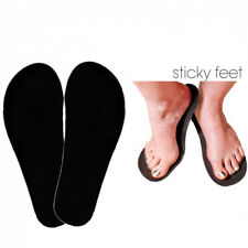 100 Pairs Disposable Sticky Feet Foot Sunless Airbrush Spray Tanning Sole