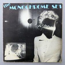 """The Monochrome Set - He's Frank / Alphaville ~ Vinyl 7"""" PS Rough Trade RT005"""