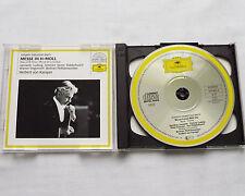 KARAJAN /J.S.BACH Mass in B minor W.GERMANY 2CD DGG 415 622-2 (PDO full silver)