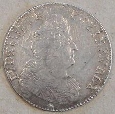 France 1705-A Half Ecu KM-355.1 Better Circulated Grade