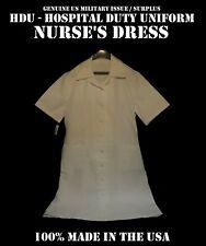 Plain Front Women'S 20R Dress Hospital White Duty Nurse Nurse'S Orderly Medical
