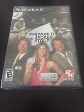 PS2 World Poker Tour (Sony PlayStation 2, 2005) NEW Sealed Game
