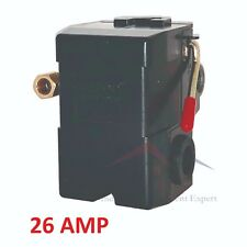 PRESSURE SWITCH CONTROL AIR COMPRESSOR 140-175 SINGLE PORT HEAVY DUTY 26 AMP