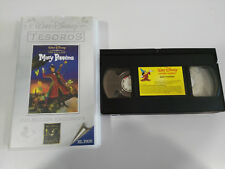 MARY POPPINS VHS TAPE TAPE WALT DISNEY SPANISH