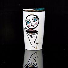 Starbucks 2015 Blusher Double Wall Ceramic Tumbler NWT & Red Box RARE