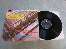 THE BEATLES PLEASE PLEASE ME PARLOPHONE LP STEREO riemettere DUE-BOX EMI -1/-1 PZ