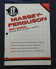 1990 Massey Ferguson Mf3505 Mf3525 Mf3545 Tractor I T Service Shop Repair Manual