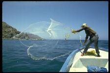 491077 Sardine Fisherman Casting Net Sea Of Cortez Mexico A4 Photo Print