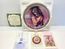 "Vtg New Bradford Exchange Native Beauty ""Quiet Time"" #6 Decorative Plate"