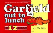 Garfield Out to Lunch paperback book 12 Jim Davis FREE SHIPPING comic cat strip
