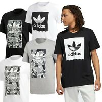 Adidas Originals Camo & Solid Men's Trefoil Sports T-Shirts FREE UK SHIPPING