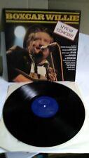 "Boxcar Willie: Live In Concert 12"" Vinyl LP - 37/20"