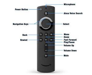 Amazon Fire TV Stick Alexa Voice REMOTE CONTROL ONLY Power Volume 4K 2nd Gen ⭐️