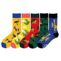 New Personality Originality Doodle Long Socks Art Animals Fashion Socks