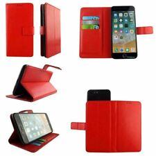 Premium Leather Mobile Phone Wallet Book Case For Archos 55 Graphite-L
