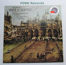 SAGA 5485 - THE ART OF BEL CANTO - Arias By Bellini / Donizetti - Ex LP Record