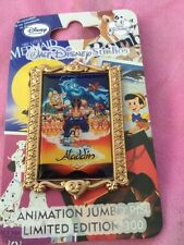 DIsney Pin Aladdin Studio Animation Film Poster Le 300 Very Rare Genie Jasmine